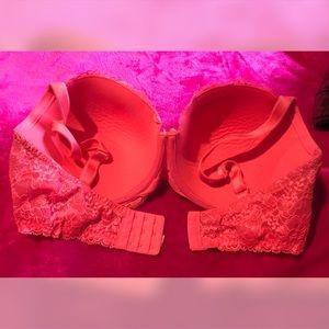 Victoria's Secret Intimates & Sleepwear - 💗 38ddd VS Dream Angels Lined Demi Bra, Pink